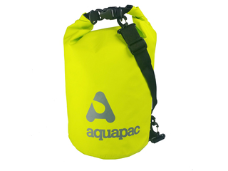 TrailProof Drybag 733 - 15 litre Waterproof Green Drybag w/Shoulder Strap