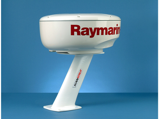 PT2001 - 350mm Composite PowerTower for 2kW/4kW Raymarine; Garmin and Navico BR24 / 3G / 4G Radomes