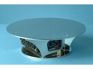 SC80 - Kit c/Base em Aço Inox p/ Antenas KVH G8 / M9