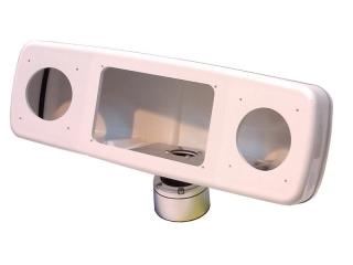 Deck Pod Branco (4 painéis) - PD-4Xl-W
