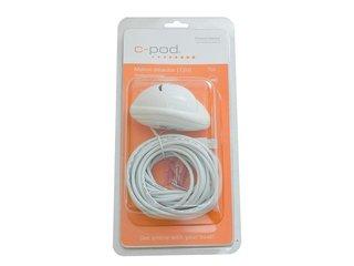 Detector de Movimento USB (12V), c/7 mts de cabo; Branco