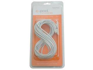 Sensor de nível de água USB (12V) c/7 mts de cabo; Branco