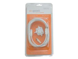 Kit de cabos ( USB-M8, 5m e Hub); Branco