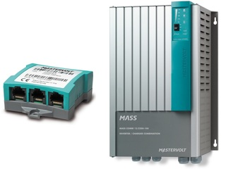 Mass Combi 12/2200-100 MB - Inverter-Charger Combi w/ MasterBus Interface