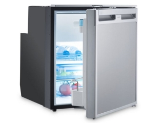 CoolMatic CRX 65 - 57 Liter Refrigerator with Compressor and Stainless Steel Effect Front