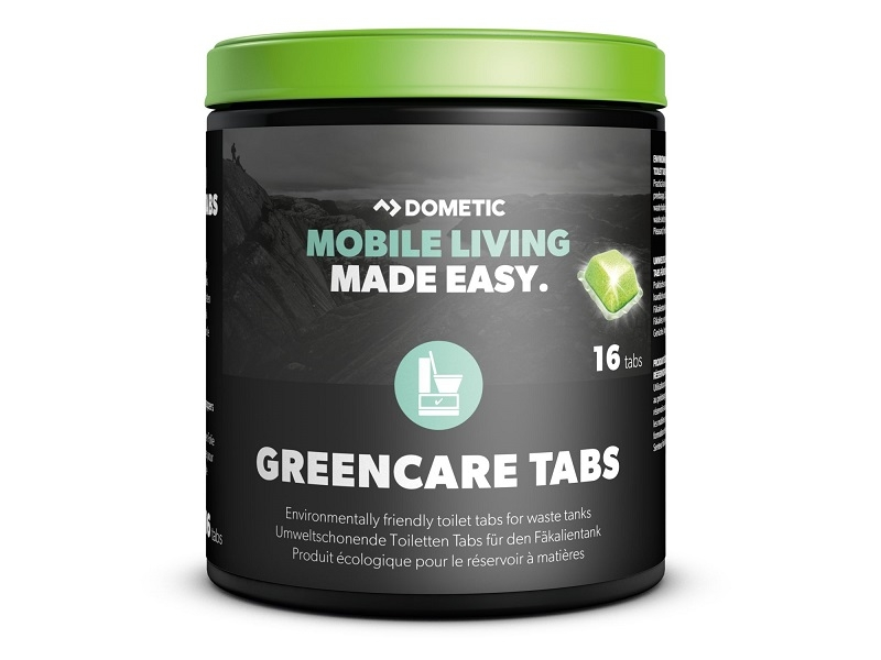 GreenCare Tabs - Sanitation Additive for Waste Holding Tanks, 16 tabs