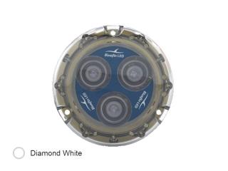 Piranha P3 SM Branco Diamante - Luz Subaquática de 1500 lúmenes