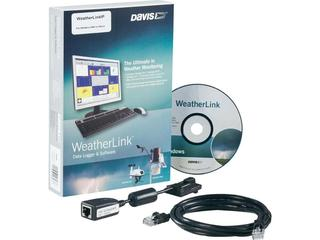 Software WeatherLink IP para Vantage Pro2 com datalogger para a internet