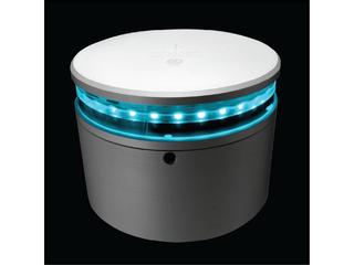 Luz de navegação LED para montagem Horizontal 360° - Verde. Para embarcações até 50m.