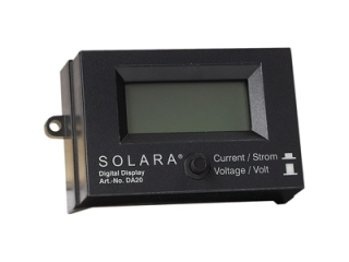 DA20 – Voltage and Current LCD Display (Surface Mounting)