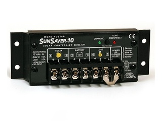 SunSaver 10 – 12V, 10 A, 165Wp MorningStar Charge Controller