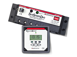 SunSaver Duo - MorningStar dual-battery-circle controller (with LCD display)