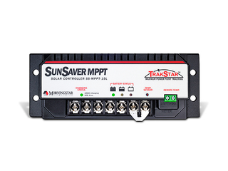 SunSaver MPPT 15 – MorningStar MPPT Solar Charge Controller