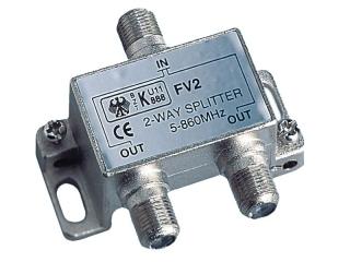 Splitter de 2 vias para V9125/12, V9112/12 e V9130.
