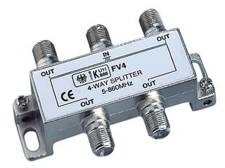 Splitter de 4 vias para V9113.