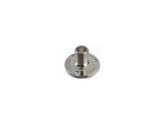 V9177 - Suporte Universal aço inox electro polido p/antenas e extensões para montagem vertical.