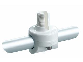 RA145 - Suporte fixo em nylon reforçado para para aplicação vertical em tubo de 22-25mm