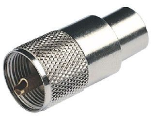 RA131 - PL259 Male Connector for RG213/U Cable (VHF)