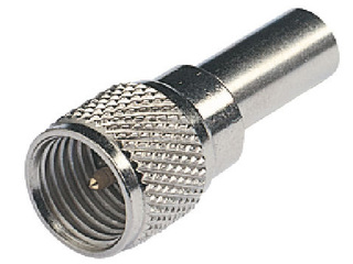 RA157 - Mini UHF Male Connector for RG58C/U (CELL)