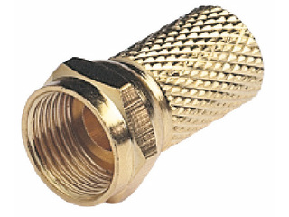 V9144 – Male Gold-Plated Connector for Coax Cables