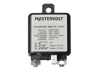 Charge Mate 1202 – Electronic Battery Isolator 120 A w/ Relay – 2 Batteries
