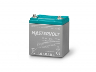 MLS 12/80 - 12V / 6 Ah Lithium Ion Battery