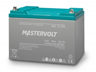 MLS 12/390 - 12V / 30Ah Lithium Ion Battery