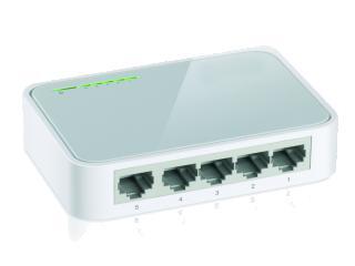 Switch de Mesa 5-Portas 10/100 Mbps