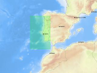 Carta C-MAP MAX Local - EW-M112 COSTA PORTUGUESA (PESCA)