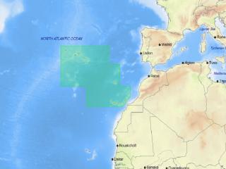 Cartografia C-MAP 4D Local - EW-D311 AÇORES, MADEIRA E ILHAS CANÁRIAS