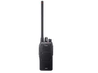Rádio Portátil de VHF IC-F1000 sem teclado e sem display