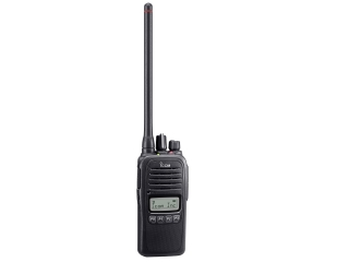 IC-F1000S – VHF / PMR Handheld Commercial Transceiver w/ simple keypad and display