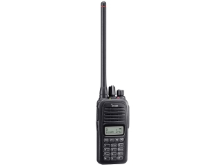 IC-F1000T – VHF / PMR Handheld Commercial Transceiver w/ full keypad and display