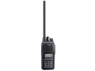 Rádio Portátil de VHF IC-F1000T com teclado completo e display