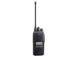 IC-F2000S – UHF Handheld Commercial Transceiver w/ Simple Keypad & Display