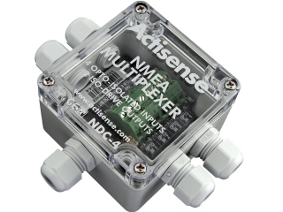 NDC-4 NMEA Multiplexer - 4 IN - 1 USB OUT