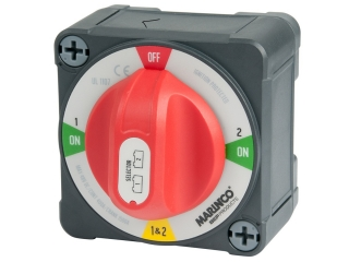 771-S-EZ - 400A EZ-Mount Battery Selector Switch (1-2-Both-Off)