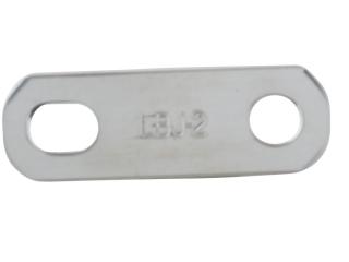 779-LBJ-2-B Ligador de interligação de 2 vias 3mm - Cobre