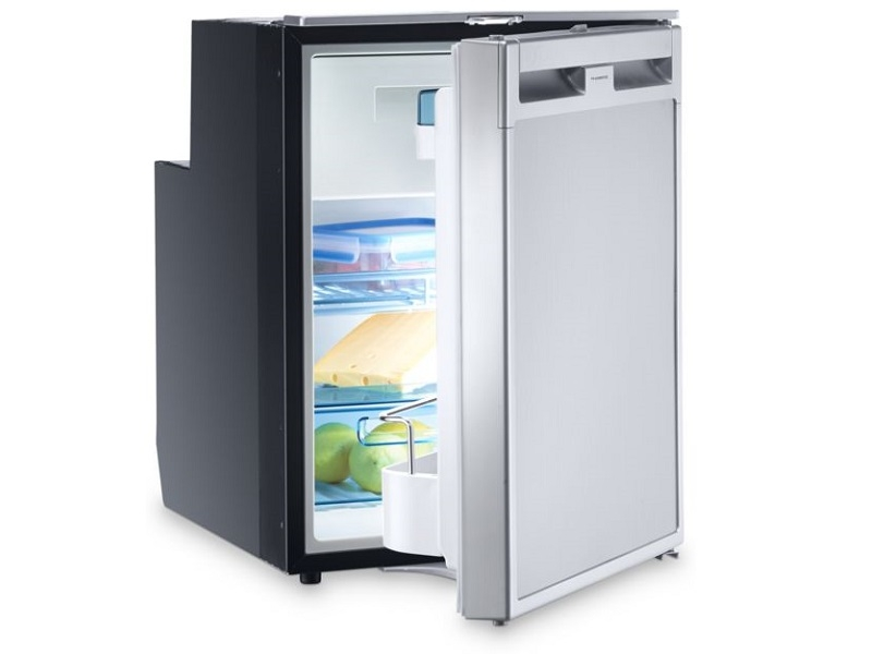 CoolMatic CRX 50 - 45 Liter Refrigerator with Compressor and Stainless Steel Effect Front