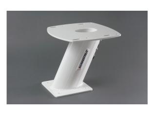 APT-250-01 Suporte em Alumínio para Antenas de Radome e Antenas Abertas  250 mm