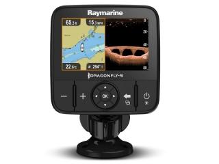Dragonfly 5 Pro - Sonda/GPS/Plotter com transdutor CPT-DVS e carta Navionics Silver EU