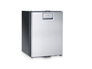 CoolMatic CRP 40S – Frigorífico de 39 l c/ Compressor e Congelador (parte frontal em Aço Inox)