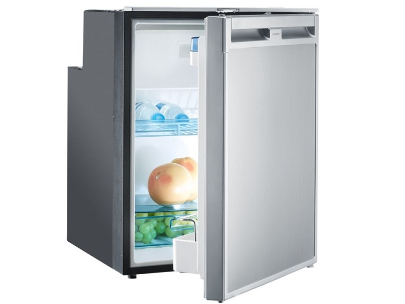 CoolMatic CRX 80 - 78 Liter Refrigerator with Compressor and Stainless Steel Effect Front