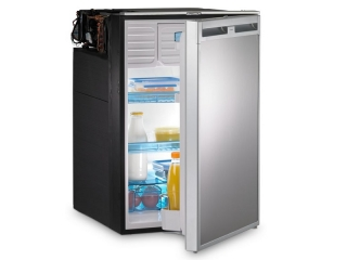 CoolMatic CRX 140 - 135 Liter Refrigerator with Compressor and Stainless Steel Effect Front