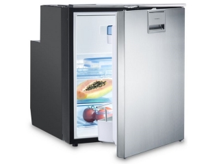 CoolMatic CRX 65S- 57 Liter Refrigerator with Compressor and Stainless Steel Front