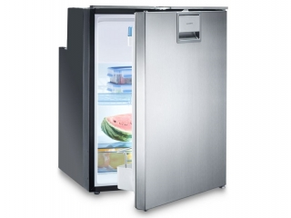 CoolMatic CRX 80S- 78 Liter Refrigerator with Compressor and Stainless Steel Front