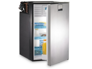 CoolMatic CRX 140S- 135 Liter Refrigerator with Compressor and Stainless Steel Front
