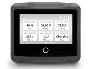 EasyView 5 - Sistema de Monitorização à prova de água com ecrã táctil
