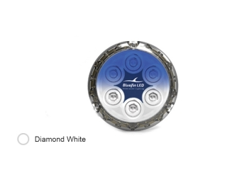 Piranha P12 SM Diamond White - Surface Mounted LED Underwater Boat Light