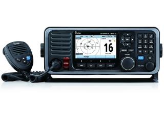 IC-M605 EURO - Mounted VHF/DSC Marine Radio